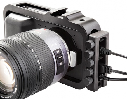 redrockmicro - wireLock for Blackmagic Pocket Camera Cage