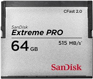 Sandisk CFast 2.0 Extreme Pro 64GB 525MB/s