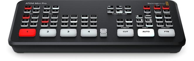 Newi Broadcast Systems Blackmagic Design Atem Mini Pro Versandkostenfrei